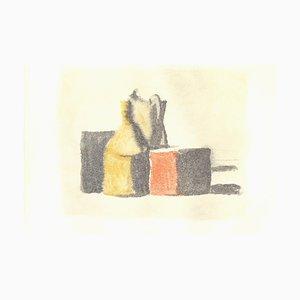 Vases - Impression Offset Vintage d'après Giorgio Morandi - 1973 1973