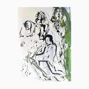 Lithographie Originale Et Tulit Corpus Iesu par Salvador Dalì - 1964 1964