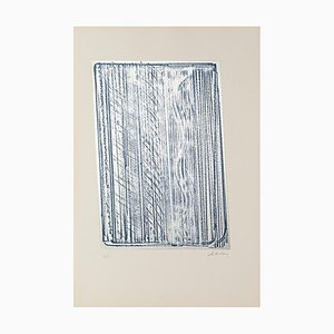 Composition - Original Screen Print on Metal by Salvatore Emblema - 1970 1970