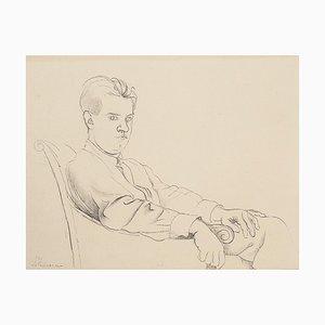Portrait of a Boy - Litografia originale - XX secolo