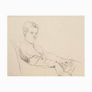 Portrait of a Boy - Original Lithograph - 20th Century 20th Century