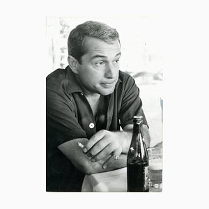 Four Portraits of Perry Como in Italy - Vintage photographic prints - 1960's 1960's