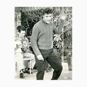 Elvis Presley in Jailhouse Rock - Vintage Photographic Print - 1957 1957