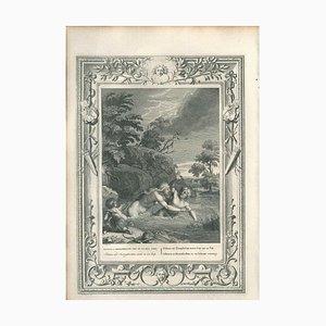 Salmacis et Hermaphrodite - Original Etching by Bernard Picart - 1742 1742