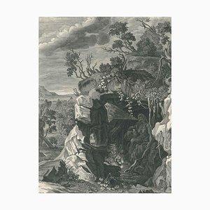 La Nymphe Echo - Original Etching by B. Picart - 1742 1742