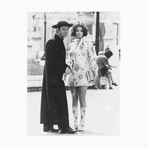 Marcello Mastroianni and Sofia Loren - Original Vintage Photograph - 1960s 1960s