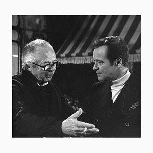 Jack Lemmon and Billy Wilder - Original Vintage Photograph - 1970s 1970s