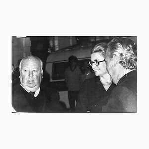 Alfred Hitchcock, Grace Kelly, Prince Ranieri - Photographie Vintage - 1972 1972