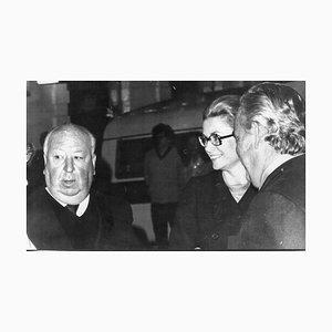 Alfred Hitchcock, Grace Kelly, Prince Ranieri - Vintage Photograph - 1972 1972