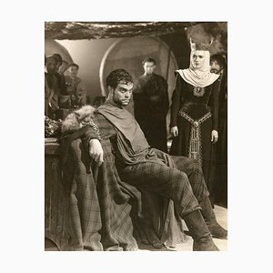 Orson Welles from ''Macbeth'' - Original Vintage Photograph - 1948 1948