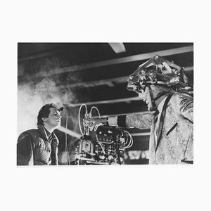 Michael J. Fox, Christopher Lloyd-Back to the Future-Vintage Photograph-1985 1985