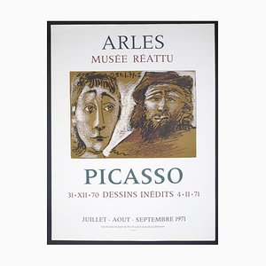 Picasso Vintage Exhibition Poster in Arles - 1971 1971