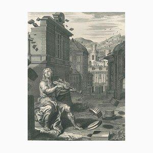 Amphion - Original Radierung von B. Picart - 1742 1742