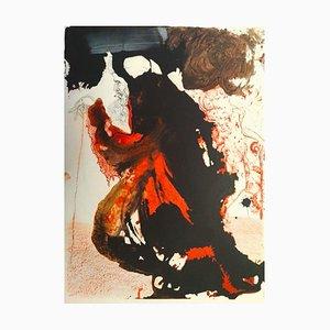 Trulla Caemetarii in Manu Domini - Original Lithograph by Salvador Dalì - 1964 1964