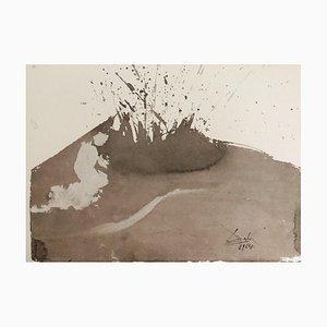 Angelus Excussit Flammam Ignis - Original Lithograph by S. Dalì - 1964 1964