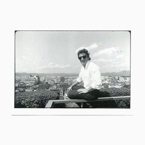Retrato de Bruce Springsteen de Neal Preston - Foto B / N vintage - 1985 1985