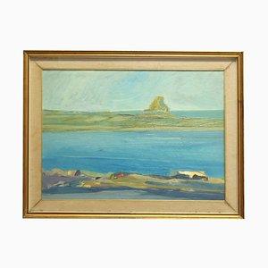 Seascape - Oil on Canvas - Mid 20th Century Mid 20th Century