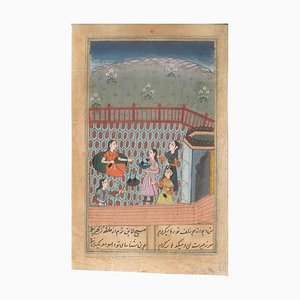 Ancient Persian Miniature: Suffer for Love - Probably 18/19th Century 18/19th Century