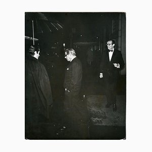 Onassis Under the Umbrella - Vintage Photo by Ron Galella - 1970 1970