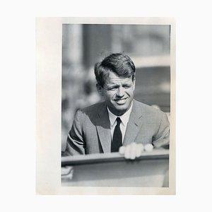 Porträt von Robert Kennedy - Press Photo von Robert Kennedy - 1968 1968
