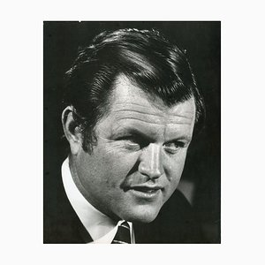 Porträt von Ted Kennedy - Pressefoto von Ron Galella - 1960er 1960er