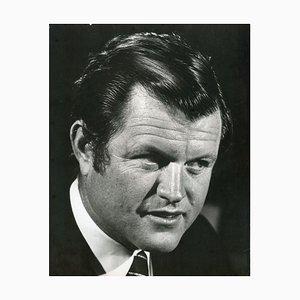 Retrato de Ted Kennedy - Foto de prensa de Ron Galella, años 60