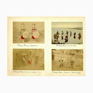 Daily Life in Seto Islands, Japan - Albumen Print 1870/1890 1870/1890