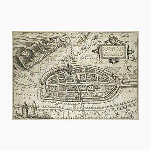 Map of Calcaria - From ''Civitates Orbium Terrarum'' by F. Hogenberg - 1575 1575