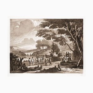 Liber Veritatis - Original B/W Etching after Claude Lorrain - 1815 1815