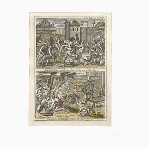 In Honour of the Sun God - Etching by G. Pivati - 1746/1751 1746-1751