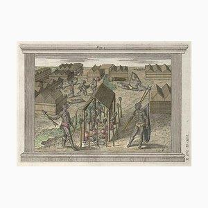 The Impalement of Enemy - Gravure à l'Eau-Forte par G. Pivati - 1746/1751 1746-1751