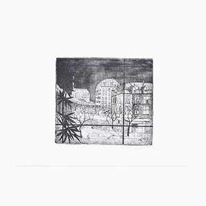 Paris - Original Etching by A. Buratti - 1947 1947