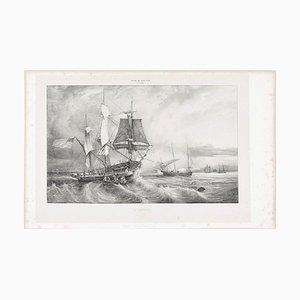 Amerika - Original Lithographie - 1830 1830
