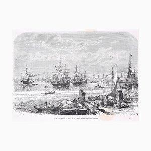 La Nouvelle Orléans - Original Woodcut Print After T.A. Weber - 1876 1876