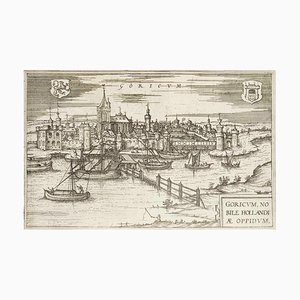 Goricum, Map from ''Civitates Orbis Terrarum'' - by F.Hogenberg - 1575 1575