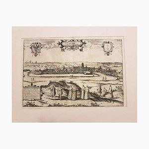 Danzig, Antique Map from ''Civitates Orbis Terrarum'' - 1572-1617 1572-1617