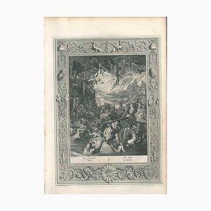 Les Enfers, aus '' Le Temple des Muses '' 1742