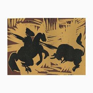 Pique - Original Linolschnitt nach Pablo Picasso - 1962 1962