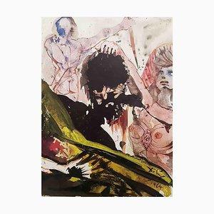 Iudit Abscidit Caput Holoferni - Original Lithograph from ''Biblia Sacra'' - 1964 1964