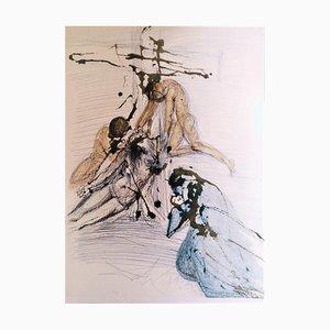 De Cruce Depositio - Original Lithograph by S. Dalì - 1964 1964