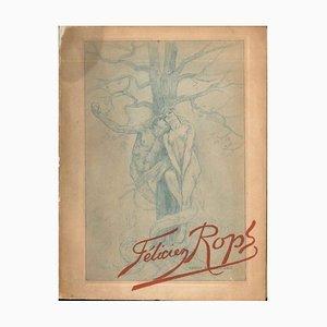 Félicien Rops - Seltenes Vintage Buch - 1905 1905