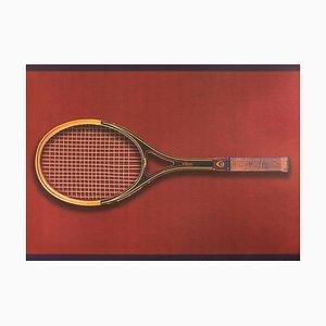 Tennis, Olympic Games Beijing 2008 -Original Lithograph by Fabio Mauri 2008
