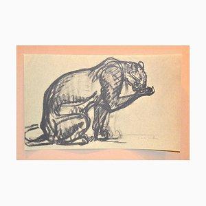 Cheetah - From Chats et Autres Bêtes - Original Lithograph 1933 1933
