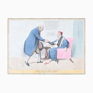 Für Auld Lang Syne - Lithographie von J. Doyle - 1831 1831