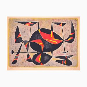 Veronica - Original Lithograph by Gustave Singier - 1953 1953