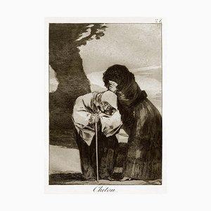 Chiton - Origina Radierung von Francisco Goya - 1868 1868