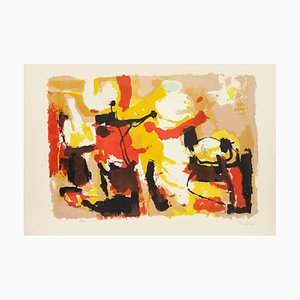 Composition - Original Lithograph by Afro Basaldella - 1955 1955