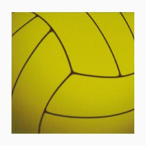 Yellow Swimming Ball - Original Oil on Canvas by Giuseppe Restano - 2009 2009