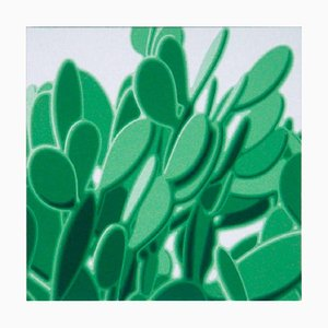 Grüne Schaufeln - Original Öl auf Leinwand von Giuseppe Restano - 2009 2009