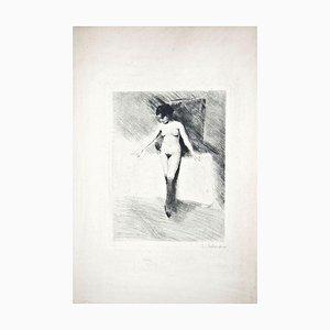 The Little Modell - Original Brennpunkt von Lino Selvatico - 1910 1910